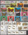 Lot Motivausgaben Tiere postfrisch ( S 2317 )