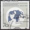 Berlin 1988 Mi. Nr. 817 o Weltkarte