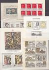 Tschechoslawakei Lot Block Ausgaben ** 6 verschiedene ( S 1566 )