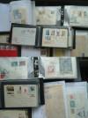 Nachlassauflösung Briefe, Ganzsachen, FDC; Polen in 6 Alben ( KB 18 )