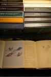 Jahressammlungen auf Faltblättern 1991-2002 SStpl. in Schmuckkassetten