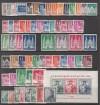 Bizone Sammlung Mi. 69 - 110 ** einschl. Block 1, 97 - 100I/II u.eng.gez