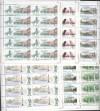 Russische Förderation seltene Kleinbogensatz Mi. 1079 - 1084 **