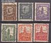SBZ Mi. Nr. 156 - 161 x o Freimarken
