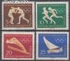 DDR Mi. Nr. 746 - 749 ** Olympische Spiele 1960