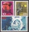 DDR Mi. Nr. 1343 - 1345 ** Meteorologie