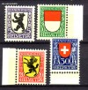 Schweiz Mi. Nr. 209 - 212 Pro Juventute 1924 **