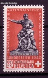 Schweiz Mi. Nr. 368 Pro Patria 1940 **