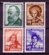 Schweiz Mi. Nr. 373 - 376 Pro Juventute 1940 **