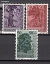 Liechtenstein Mi. Nr. 377 - 379 B�ume und Str�ucher III **