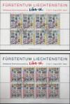 Lichtenstein Kleinbogensatz Mi. 1297 - 1298 o LIBA Vaduz 2002