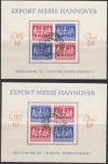Gemeinschaftsausgaben 1947 Viererblock V Zd 1 und V Zd 2  ( B 356 )