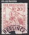 DDR Mi. Nr. 544 o Tag der Briefmarke 1956