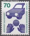 Berlin 1973 Mi. Nr. 453 ** Unfallverh�tung
