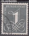 Bund Mi. Nr. 285 Y o Ziffernzeichnung