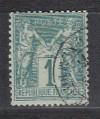 Frankreich Mi. Nr. 56 o Freim. Allegorien 1 C