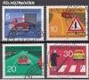 Bund Mi. Nr. 670 - 673 o Regeln Stra�enverkehr