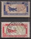 Sowjetunion Mi. Nr. 326 - 327 o  Luftpostkonferenz 1927