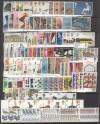 Lot Großbritanien komplette ** Ausgaben aus 1975 - 1979  ( S 2227 )