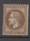 Frankreich Mi. Nr. 29 ** Kaiser Napoleon 30 C