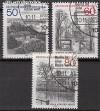 Berlin 1982 Mi. Nr. 685 - 687 o Berliner Ansichten