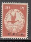 DR Flugpostmarke Mi. Nr. VI ** mit Aufdruck E.EL.P.