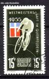 Saarland Mi. Nr. 357 o Querfeldein-Rad-WM
