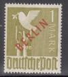 Berlin Mi. Nr. 33 ** Luxusmarke 1 Mark Rotaufdruck
