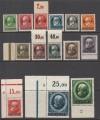 Saargebiet Mi. Nr. 18 – 31 ** Bayernmarken mit Aufdruck Sarre Luxus