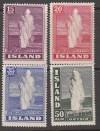 Island Mi. Nr. 193 - 196 **  Der große Geysir