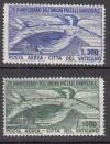 Vatikan Mi. Nr. 161 - 162 ** Luxus 75 Jahre UPU