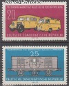 DDR Mi. Nr. 789 - 790 ** Tag d. Briefmarke 1960