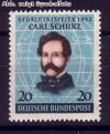Bund Mi. Nr. 155 ** Carl Schurz
