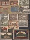 Lot Notgeld 18 St�ck aus dem Harz ( 62 )