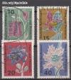 Bund Mi. Nr. 392 - 395 o Flora u. Philatelie