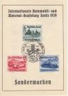DR Mi. Nr 686 - 688 o Ausstellung auf Sonderkarte  ( K 48 )