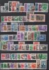 Superlot kompletter gestempelter Ausgaben 1948 - 1949  ( S 1475 )