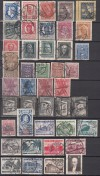 Polen Lot kompletter o Ausgaben aus 1927 - 1936  ( S 1799 )