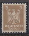 DR Mi. Nr. 355 y a ** Reichsadler 3 Pf mit liegendem Wasserzeichen 2 Y