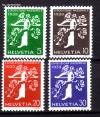Schweiz Mi. Nr. 348 - 351 Landesausstellung 1939 **