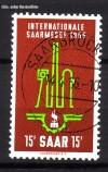Saarland Mi. Nr. 368 o Saarmesse 1956