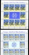 Irland 2 Kleinbogen 1990 ** Postgebäude ( K 162 )