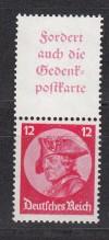 DR Zusammendruck S 102 ** Fridericus 1933 Luxus