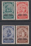 DR Mi. Nr. 508 - 511 ** Marken aus Block 2 Nothilfe 1933