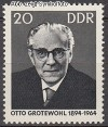 DDR Mi. Nr. 1153 ** Otto Grotewohl