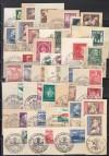 DR Lot Briefst�cke mit Ausgaben und Sonderstempel ( S 1772 )