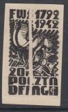 Kriegsgefangenenlagerpost Woldenberg Mi. Nr. 4 b (*) Schwarzdruck