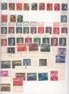 Jugoslawien Ausgabe Slowenien 1945 Mi. Nr. 1 - 46 ** Aufdruckmarken